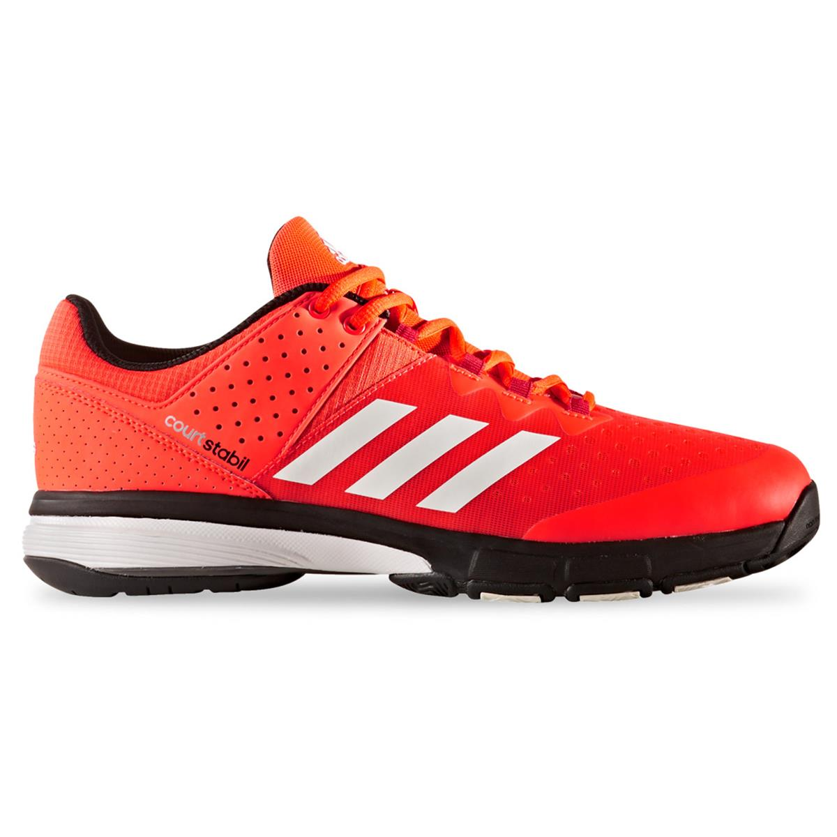 e57aa99500e7e adidas Court Stabil Court Shoes (Solar Red-White) | Direct Squash