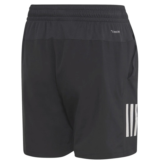 Adidas Boys 3 Stripe Club Shorts (Black)