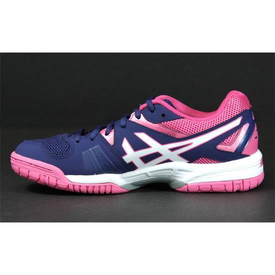 tak tanio kup najlepiej Zjednoczone Królestwo Asics Gel Hunter 3 Womens Court Shoes (Indigo Blue-White-Azalea Pink) |  Direct Squash