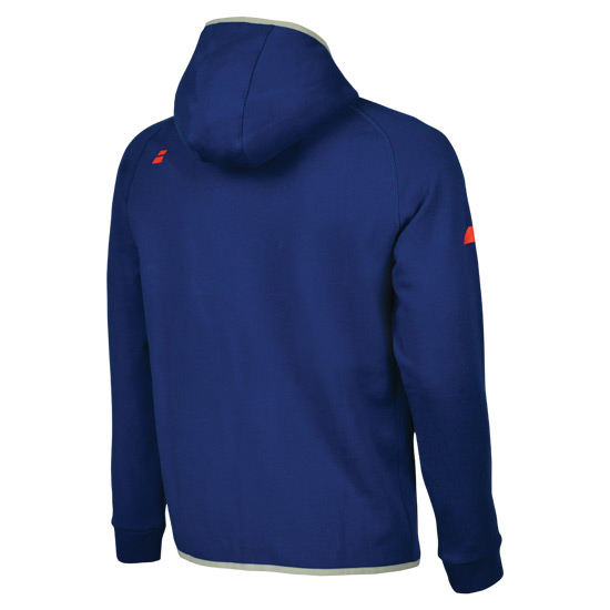Babolat Core Boys Hooded Sweat Top (Estate Blue)