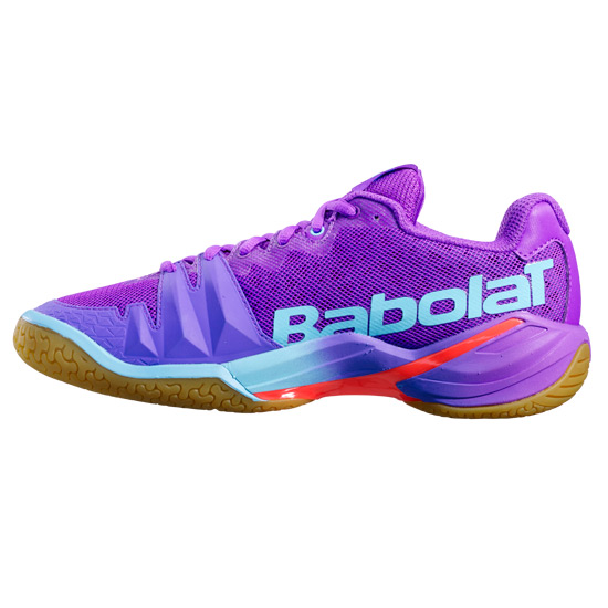 Babolat Shadow Tour Womens Court Shoes (Purple-Blue)