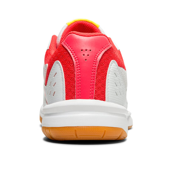 Asics Gel Upcourt 3 GS Junior Court Shoes (White-Laser Pink)