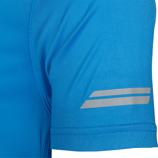 Babolat Core Flag Boys Tee (Blue)