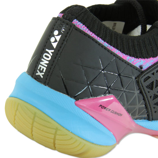 Yonex Power Cushion Eclipsion Z Womens Badminton Shoes (Black)