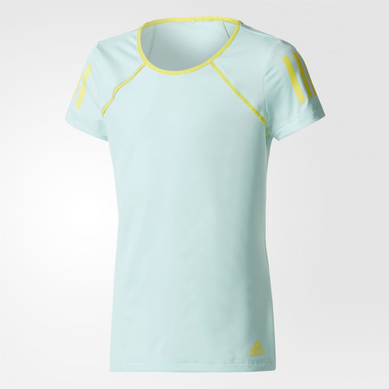 Adidas Club Girls Tee (Aqua)