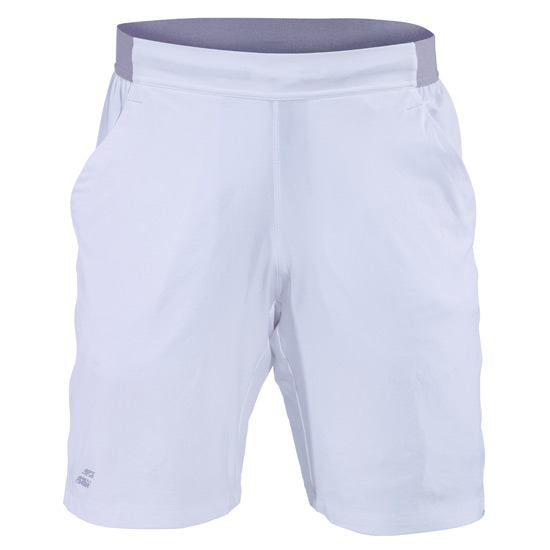 Babolat Performance Boys X-Long Shorts (White-White)