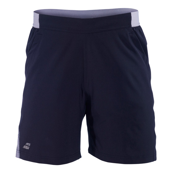 Babolat Performance Boys Shorts (Black-Silver)