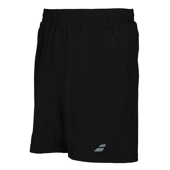 Babolat Core 8 Inch Boys Shorts (Black)