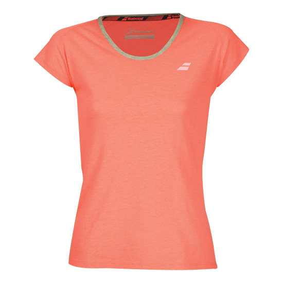 Babolat Core Girls T-Shirt (Fluo Strike)