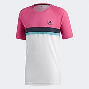 2e4ad5fdc47 Adidas Club Mens Tee (Shock Pink)