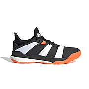 15f4fe891 Adidas Stabil X Indoor Court Shoes (Black-White)