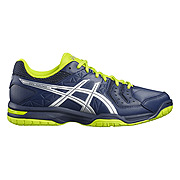 61ffcd2132 Asics Gel Hunter 3 Mens Court Shoes (Poseidon-White-Safety Yellow ...