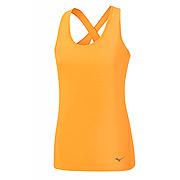91f1c6dc838d9 Mizuno Active Womens Tank (Orange Pop)