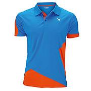 43e6911b Victor Team Line Unisex Function Polo Shirt (Orange)