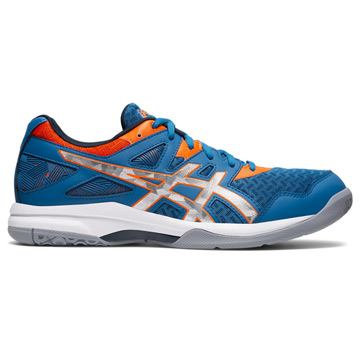 Asics Gel Task Mens Court Shoes (Reborn Blue-Pure Silver)