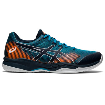 Asics Gel Hunter 3 Mens Court Shoes (Teal Blue-French Blue)
