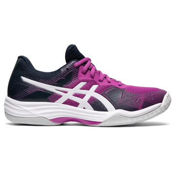 Asics Gel Tactic Womens Court Shoes (Digital Grape-White)