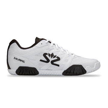 Salming Hawk 2 Mens Court Shoes (White-Black)