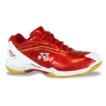 Yonex Power Cushion 65a - Wide Fitting - Badminton Shoe (Red)