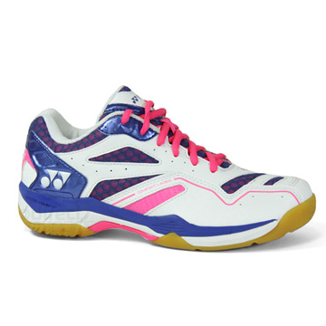 Yonex Power Cushion Comfort Womens Badminton Shoe (Blue-White-Pink)