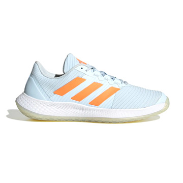 Adidas ForceBounce Womens Indoor Court Shoes (Sky Tint)